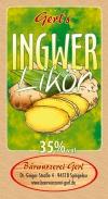 Ingwer Likör 35%