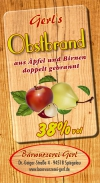 Obstbrand 38% vol.
