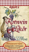 Rotweinlikör 22%