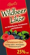 Wildbeer-Likör 25% vol.